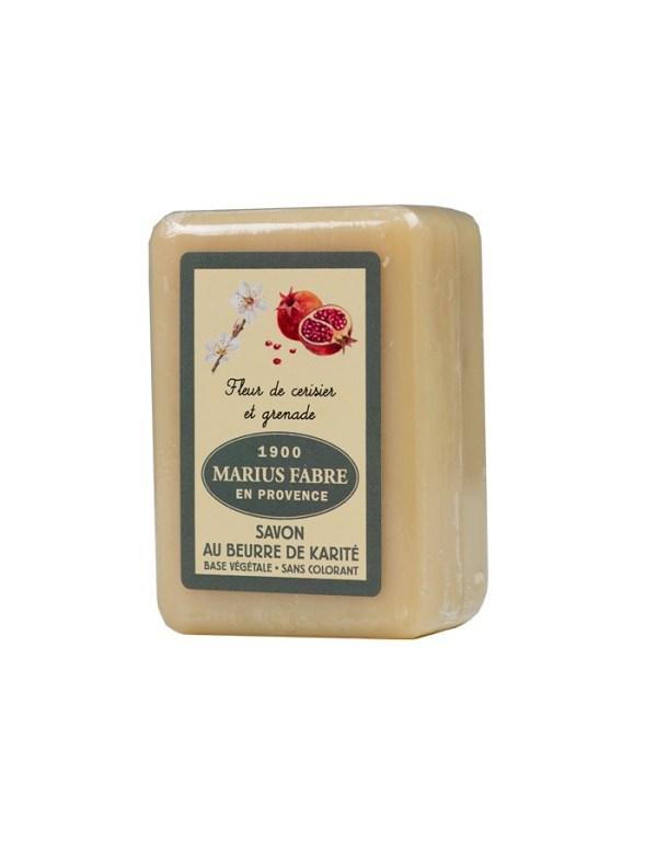 sapone al burro di karitè 150-250gr e fiore di ciliegio marius fabre tec-terreecolori calestano-parma