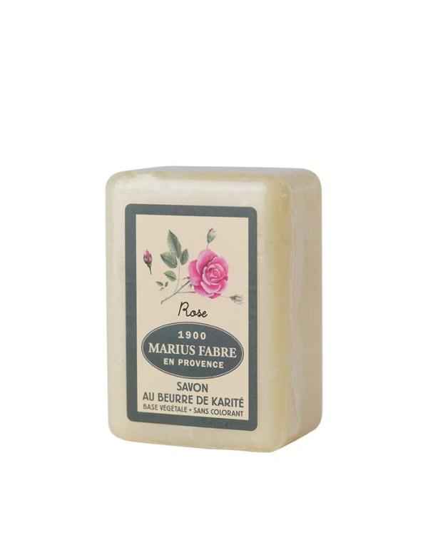 sapone al burro di karitè 150-250gr e rose marius fabre tec-terreecolori calestano-parma