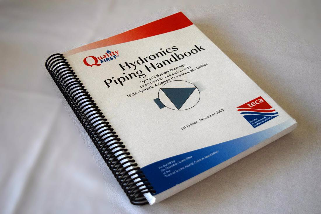 hight resolution of hydronics piping handbook quality first manuals teca teca thermal environmental comfort association british columbia quality first heating