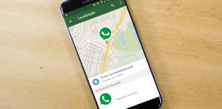 Localização em tempo real WhatsApp