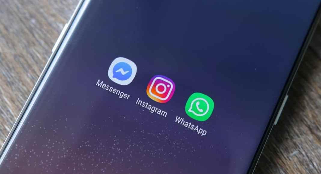 integração whatsapp facebook instagram