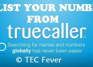 number remove from truecaller
