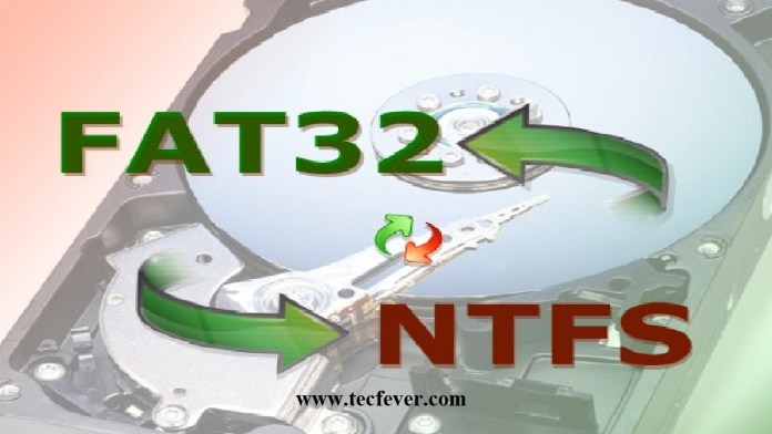 Convert FAT32 To NTFS In Windows