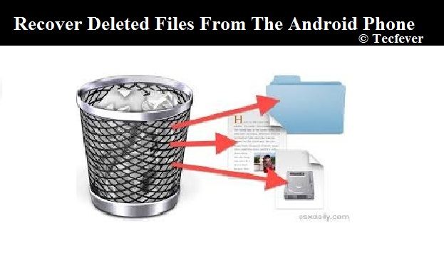 Recover Deleted Files From Android Phone-Tecfever