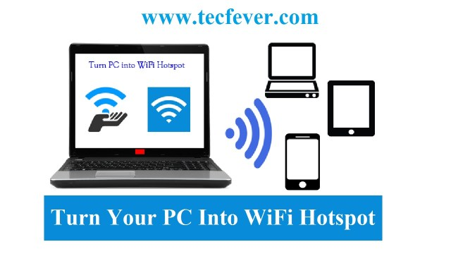 Turn Your PC Into WiFi Hotspot