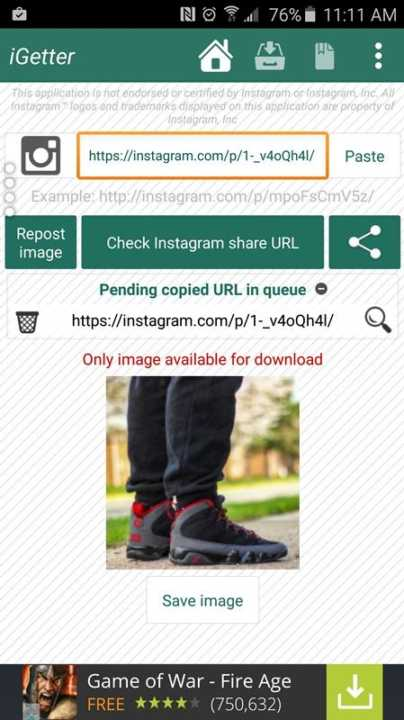 3 Methods To Download Instagram Videos And Images On Android3