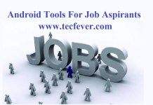 Android Tools For Job Aspirants