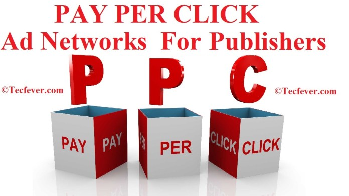 Best PPC List (PAY PER CLICK) Websites For Ad Network Publishers