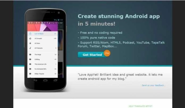 Best Tools To Create Android Apps Without Coding4