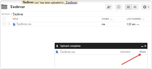 Host Your Blogger CSS And JavaScript In Google Drive4