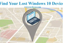 How To Find Your Lost Windows 10 Devices