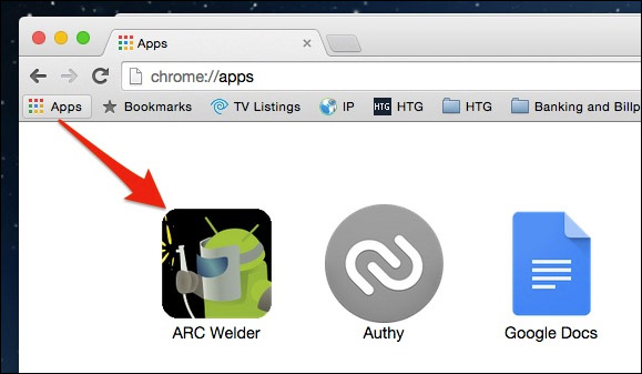 Run Android Applications In Google Chrome3