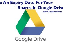 Fix An Expiry Date For Your Shares In Google Drive