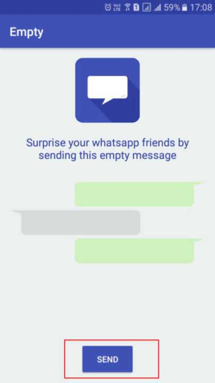 How To Send Blank Messages On WhatsApp3