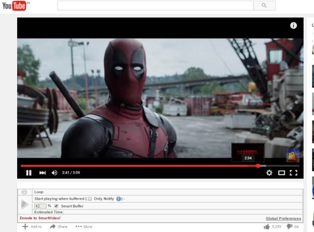 Play YouTube Videos Without Buffering4