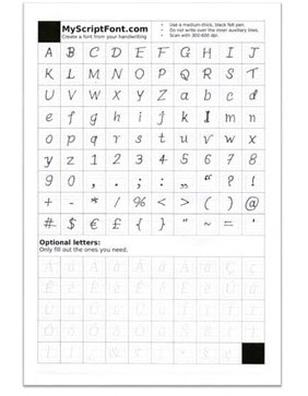 Use Your Handwriting As Android Font2