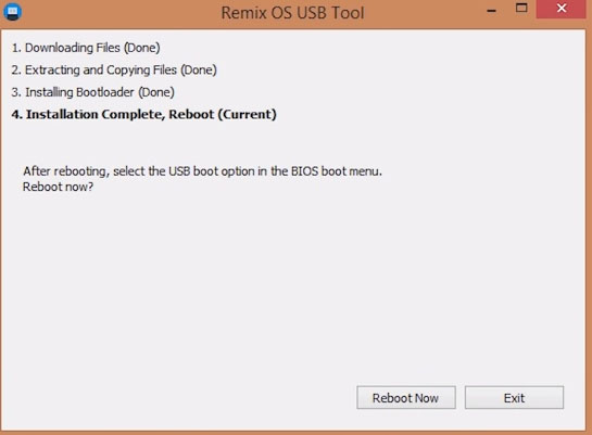 Install Android Remix OS On PC9