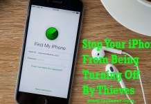 Stop Your iPhone From Being Turning Off By Thieves