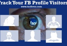 Track facebook Profile Visitors