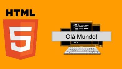 "Photo of HTML – Primeiro ""Olá Mundo!"""