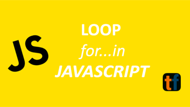 Photo of Loop for…in JavaScript