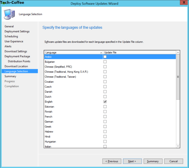 sccm software update part 4 create deployment packages manually
