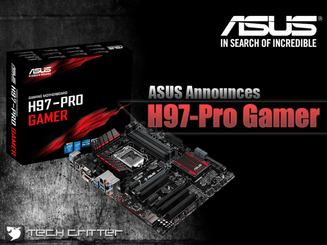 ASUS Announces H97-Pro Gamer Gaming Motherboard 13