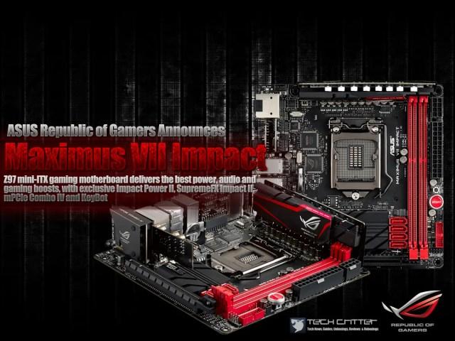 ASUS Republic of Gamers Announces Maximus VII Impact, priced at RM999 1