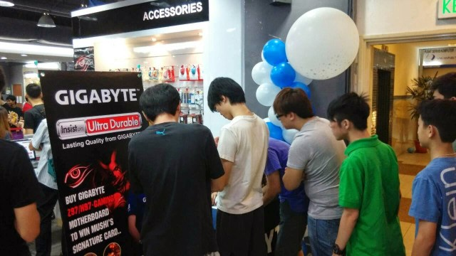 Quick Coverage on Mushi & Gigabyte Fan Meeting Event @Viewnet Low Yat Plaza 45