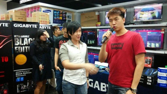 Quick Coverage on Mushi & Gigabyte Fan Meeting Event @Viewnet Low Yat Plaza 50