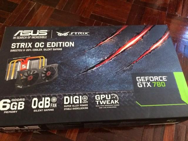 Unboxing & Review: ASUS STRIX GTX 780 OC Edition 4