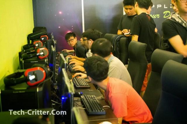 Brief coverage of the Applez Dream Net Dota 2 Championshio 2014 by TTEsports 61