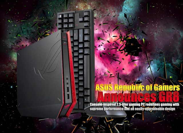 ASUS Republic of Gamers Announces GR8, priced at RM3,388 1