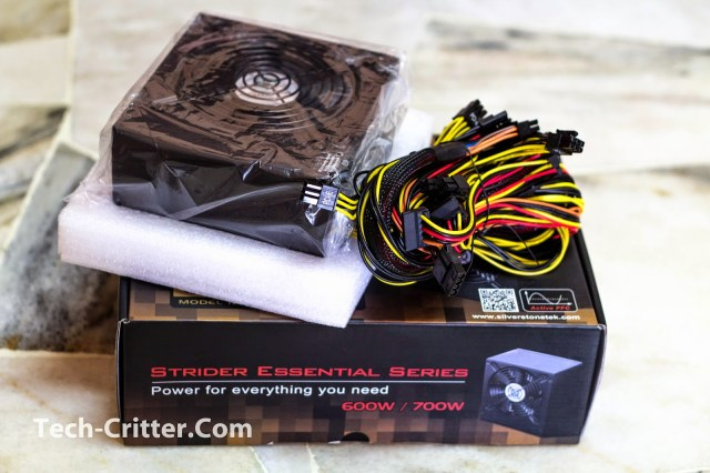 Unboxing & Overview: Silverstone Strider Essential 600W 32