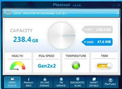 Unboxing & Review: Plextor M6e Black Edition PCIe SSD 78
