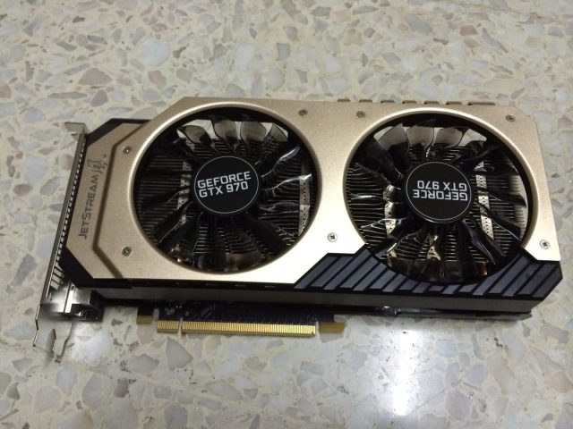 Unboxing & Review: Palit GTX 970 JetStream 38