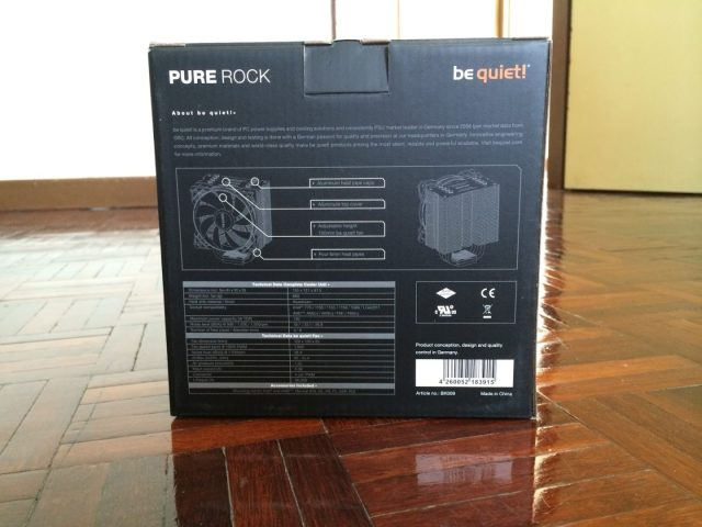 Unboxing & Review: be quiet! Pure Rock CPU Cooler 2