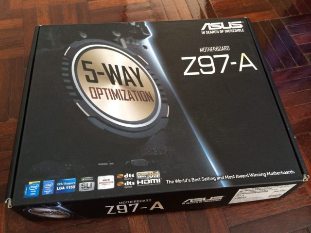 Unboxing & Review: ASUS Z97-A 145