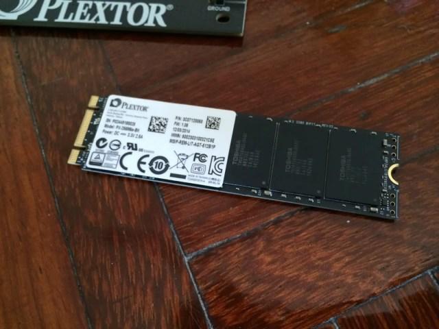 Unboxing & Review: Plextor M6e Black Edition PCIe SSD 76