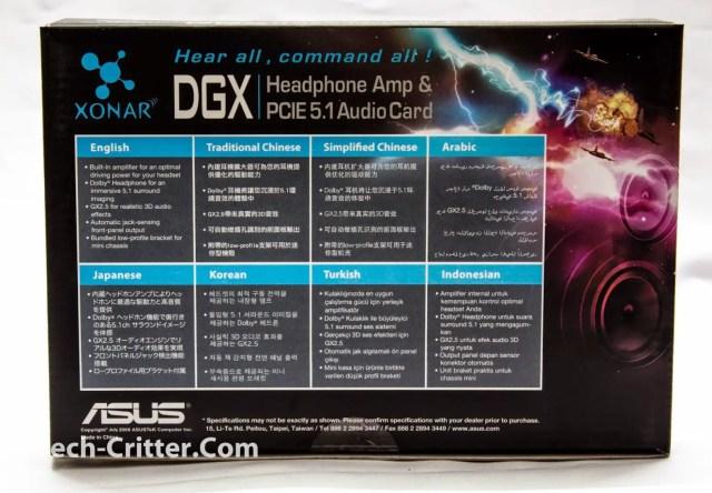 Unboxing & Review: Asus Xonar DGX PCI-E 5.1 Sound Card 3