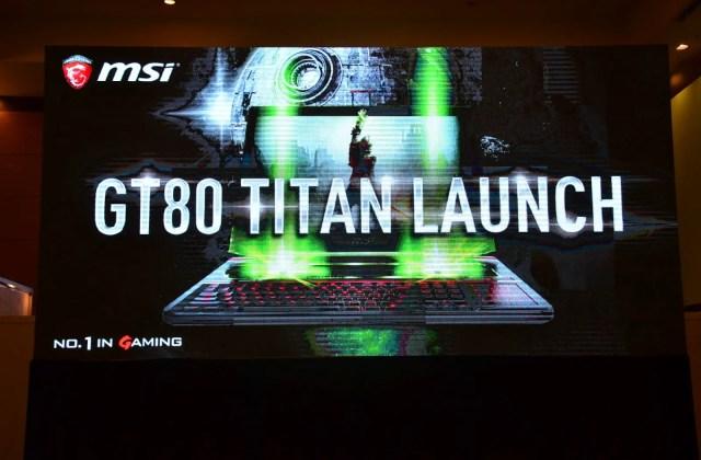 Event Coverage: MSI GT80 Titan Launch Event 1