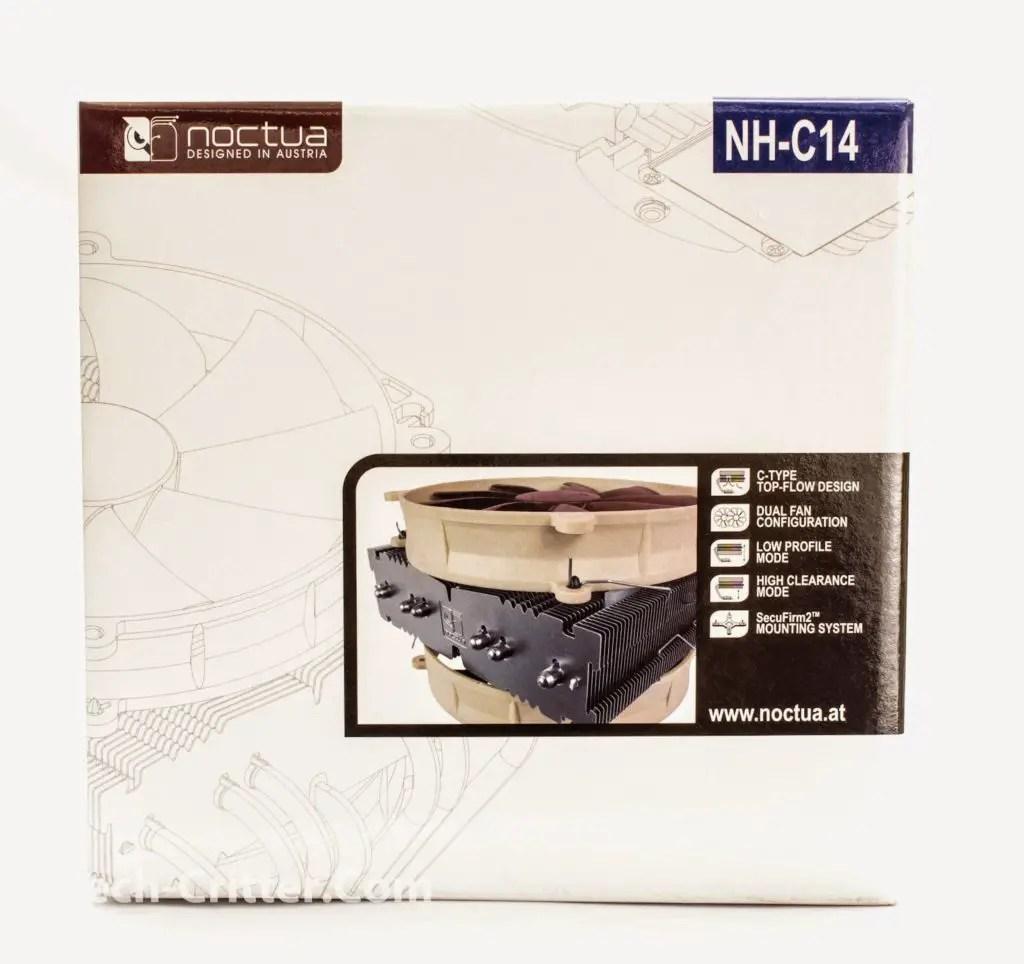Unboxing & Review: Noctua NH-C14 CPU Cooler 1