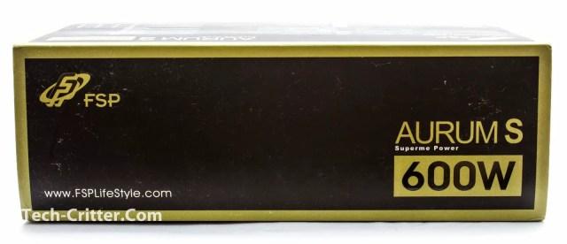 Unboxing & Overview: FSP Aurum 600W and Aurum CM 650W 70