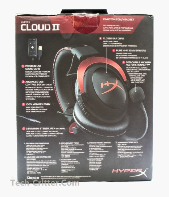 Unboxing & Review: Kingston HyperX Cloud II Pro Gaming Headset 3