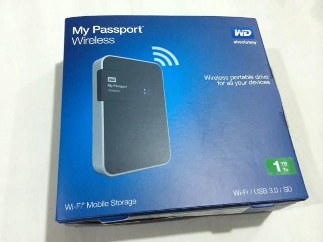 Unboxing & Review: Western Digital My Passport Wireless 1TB 61