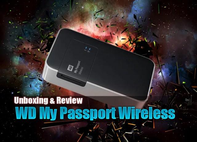 Unboxing & Review: Western Digital My Passport Wireless 1TB 59