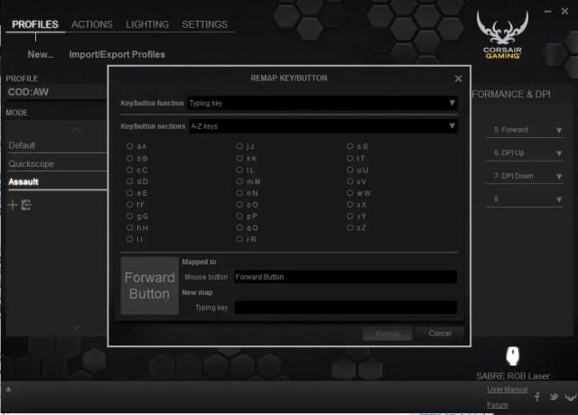 Unboxing & Review: Corsair Gaming Sabre Laser RGB Gaming Mouse 22