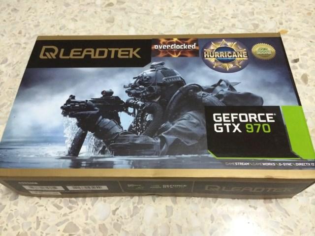 Unboxing & Review: Leadtek GTX 970 Hurricane 26