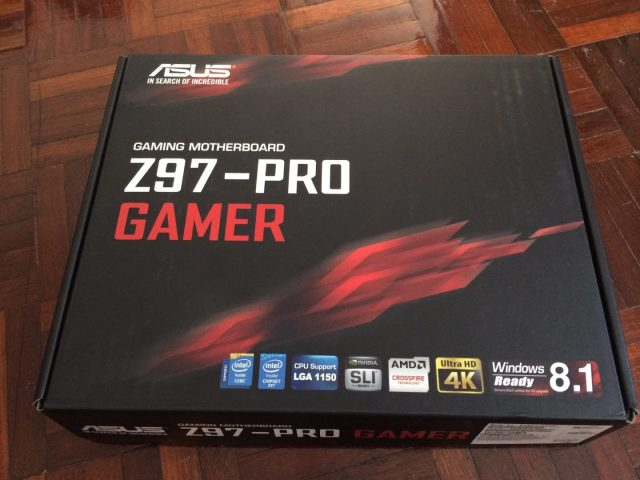 Unboxing & Review: ASUS Z97-PRO Gamer 74