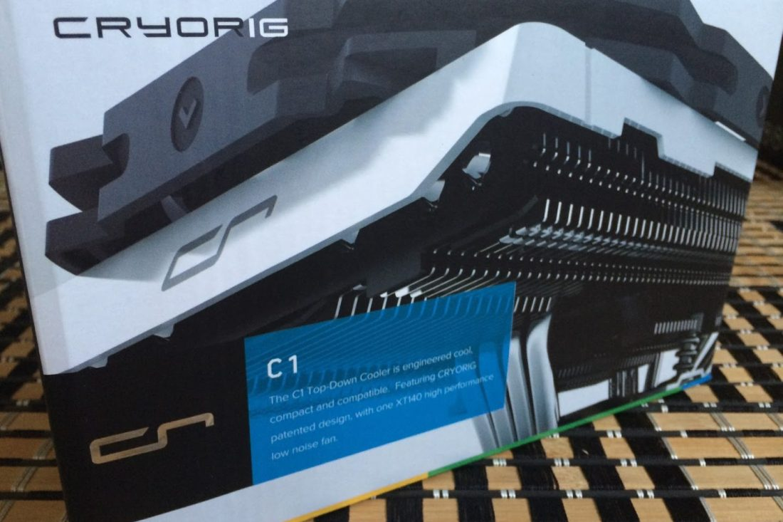 Unboxing & Review: CRYORIG C1 2